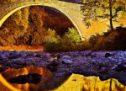 Εντυπωσιακές εικόνες από το Πέτρινο Τοξωτό Γεφύρι του Πορταϊκού [video]