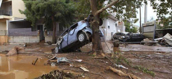 Στους 23 οι νεκροί από τις πλημμύρες στη Μάνδρα