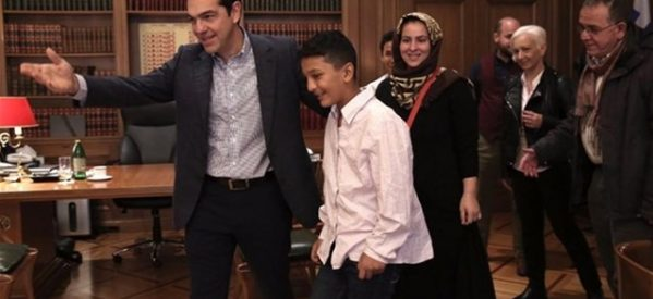 Στο Μαξίμου ο 11χρονος Αμίρ