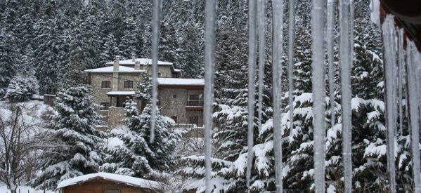 Τρικαλινά Μαγευτικά Πανέμορφα Χειμωνιάτικα Χιονισμένα Τοπία