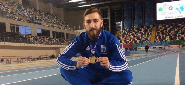 Πρωταθλητής Ελλάδος ο Tρικαλινός Κωνσταντίνος  Ζήκος!