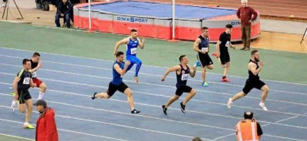 Πανελληνιονίκης στα 60 μέτρα στον κλειστό ο Κώστας Ζήκος