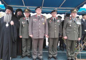 """""""Αλλαγή φρουράς"""" στη Διοίκηση της Σχολής Μονίμων Υπαξιωματικών"""