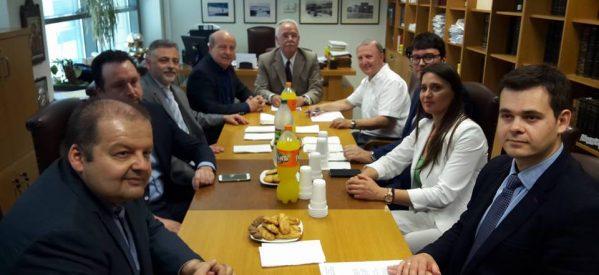 Συνάντηση Δ.Σ. Δικηγορικού Συλλόγου με τους βουλευτές του Σύριζα