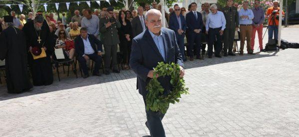 Tιμήθηκε στην Πύλη η 75η Επέτειος της Ιστορικής ΜΑΧΗΣ ΤΗΣ ΠΟΡΤΑΣ