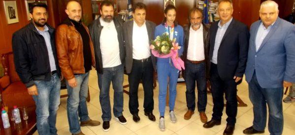 Επιβράβευση για την Ολυμπιονίκη Φανή Τζέλη