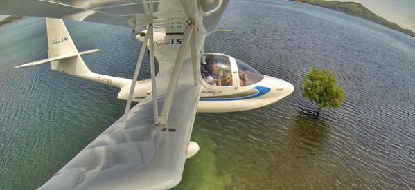 Υδροπλάνα στην Λίμνη Πλαστήρα και αγώνες Αερομοντέλων στη Μυρίνη