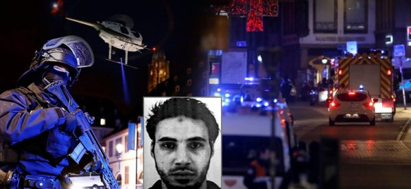 Νεκρός ο δράστης του μακελειού στο Στρασβούργο