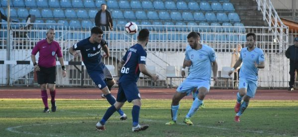 Επιτέλους νίκη ΑΟ Τρίκαλα-Ηρόδοτος 2-0