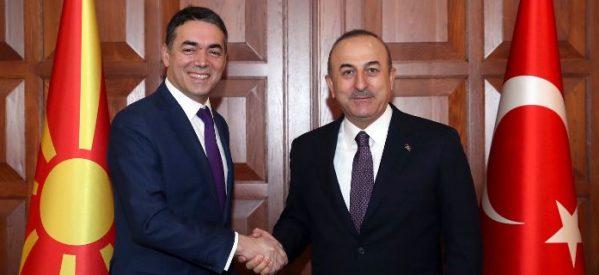 Τσαβούσογλου: Καλωσορίζουμε την «Μακεδονία» στο ΝΑΤΟ