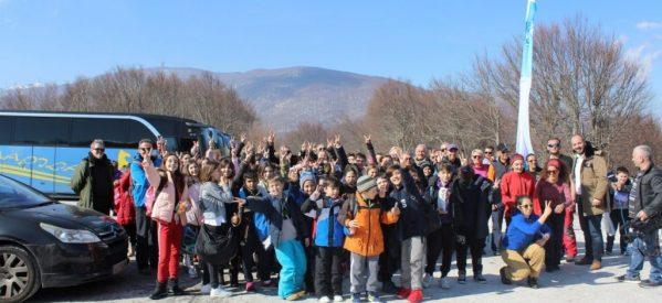Το Χιονοδρομικό Κέντρο Πηλίου επισκέφθηκαν 1.000 μαθητές από τη Μαγνησία και τη Λάρισα