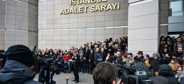 Τουρκία: Συγκέντρωση κατά της καταδίκης δημοσιογράφων