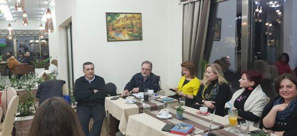 Συνάντηση Δ.Κουρέτα με τους Τρικαλινούς υποψηφίους περιφερειακούς συμβούλους