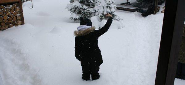 Μισό μέτρο το χιόνι στο Περτούλι
