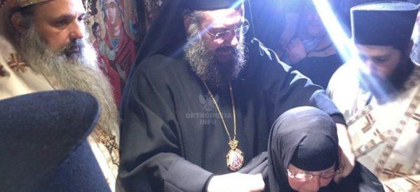 Ενθρονίστηκε η νέα Ηγουμένη της Μονής Βυτουμά, Θεοκτίστη