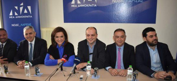 Μπακογιάννη από Λάρισα: «Οι Έλληνες θα απαντήσουν στις ψεύτικες ελπίδες του Τσίπρα μέσω της κάλπης»
