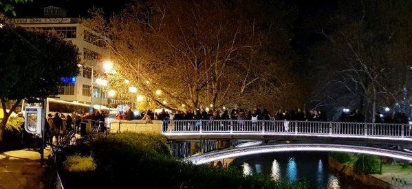 Η πεζογέφυρα του Ληθαίου, στολίδι της πόλης των Τρικάλων