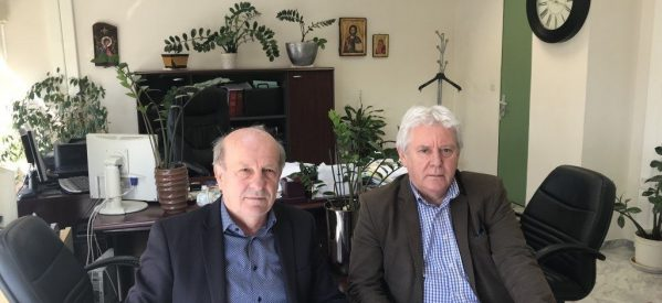 Συνάντηση Χρ. Σιμορέλη με τον Περιφερειακό Διευθυντή του ΕΦΚΑ Bαγγέλη Γεωργολόπουλο