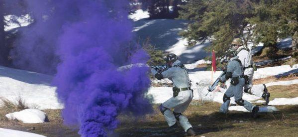 Εντυπωσιακές εικόνες από χειμερινή στρατιωτική εκπαίδευση στο Περτούλι