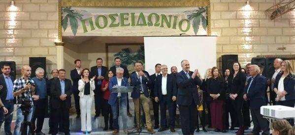 Εντυπωσιακή συγκέντρωση Θανάση Μεριβάκη – Παρουσιάστηκαν οι αρχές και θέσεις του συνδυασμού
