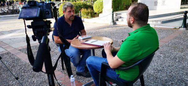 Ο Υποψήφιος Πειφερειάρχης Στάθης Ντούρος στην TrikkiPress [video]