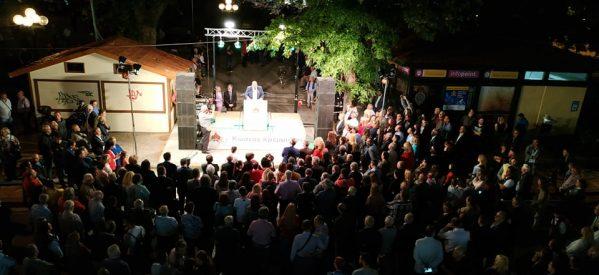 Μεγάλη προεκλογική συγκέντρωση του υποψηφίου δημάρχου Τρικκαίων Κώστα Κρεμμύδα