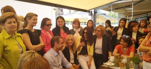 Εικόνες από την επίσκεψη του Κυριάκου Μητσοτάκη στα Τρίκαλα