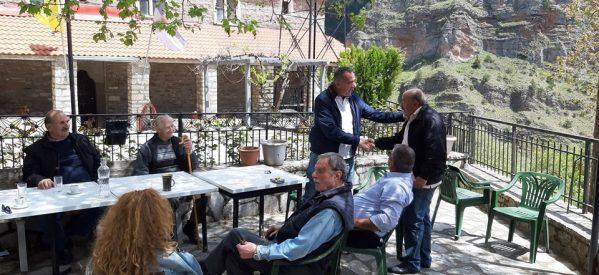 Από τα ορεινά των Τρικάλων στην Αθήνα ο Θοδωρής Χήρας
