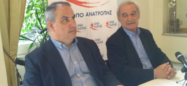 Η επίσκεψη του Νίκου Χουντή στα Τρίκαλα και οι συναντήσεις του με εκπροσώπους φορέων και εργαζόμενους