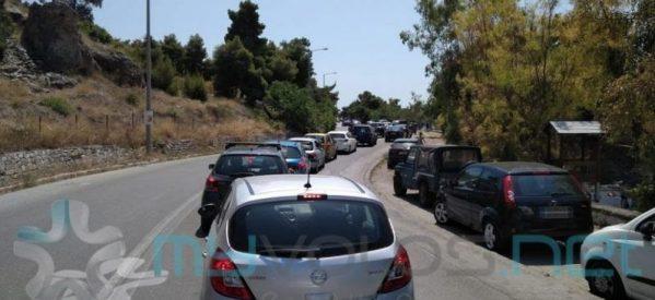 Βόλος: «Ουρές» 15 χιλιομέτρων στο δρόμο για το Πήλιο