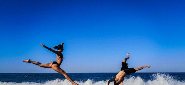 Τρικαλινή χορογραφία στη θάλασσα υψηλού επιπέδου