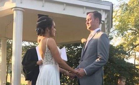 Ονειρεμένος γάμος της Ελίζας Μπλέτσα με τον αγαπημένο της Σκοτ στις ΗΠΑ