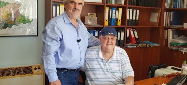 Γιαγιάκος – Σακελλαρίου συμφώνησαν για αναπτυξιακές δράσεις στην περιοχή