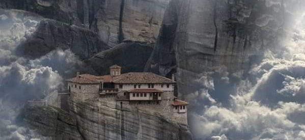 Το National Geographic στα Μετέωρα: Η «άγνωστη» Μονή Ρουσάνου -Γιατί έχει… αυγά στρουθοκαμήλου [εικόνες]