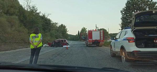 Τραγικό τροχαίο με τέσσερις νεκρούς έξω από την Πρέβεζα
