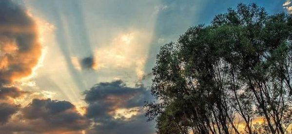 Θεϊκό Τρικαλινό ηλιοβασίλεμα