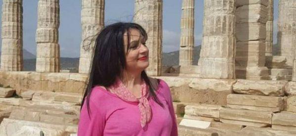 Η αρχαιολάτρισσα Κορίνα