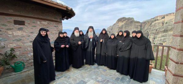 Η μοναχή Χαριτίνη νέα Ηγουμένη της Ιεράς Μονής Ρουσσάνου