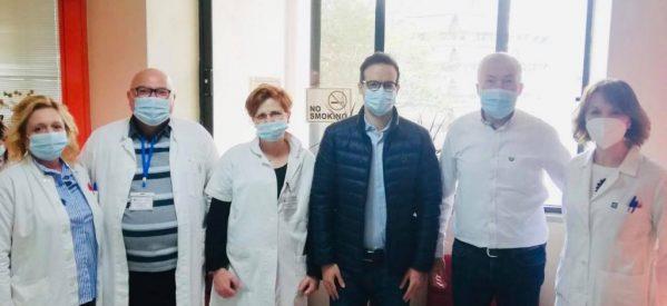 Να ενισχυθεί το Κέντρο Υγείας Τρικάλων ζητά ο Χατζηγάκης