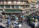 Μεγάλη συγκέντρωση διαμαρτυρίας αγροτών στον Τύρναβο