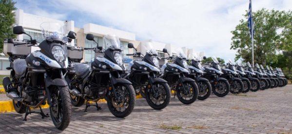 Με νέες μηχανές ενισχύεται ο στόλος της αστυνομίας – 3 στα Τρίκαλα