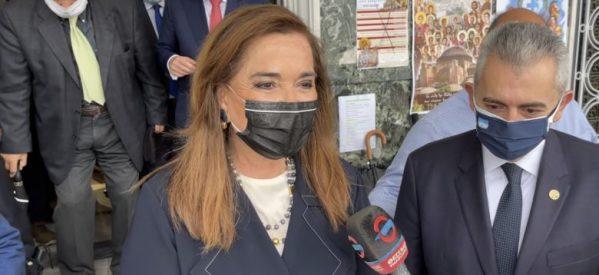 Ντόρα Μπακογιάννη από τη Λάρισα: Να αφήσουμε σταδιακά και προσεκτικά πίσω μας τη λαίλαπα του κορωνοϊού