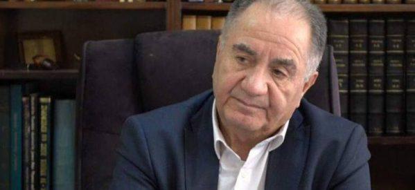 Θόδωρος Κατσανέβας: Πέθανε από κορονοϊό το ιστορικό στέλεχος του ΠΑΣΟΚ