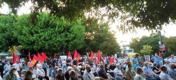 Τρίκαλα – Κάλεσμα «ξεσηκωμού» από το ΚΚΕ  για το εργασιακό