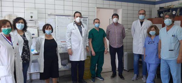 Το Εμβολιαστικό Κέντρο του Νοσοκομείου συμβάλει τα μέγιστα ώστε ο νομός Τρικάλων να γίνει σύντομα Covid free.