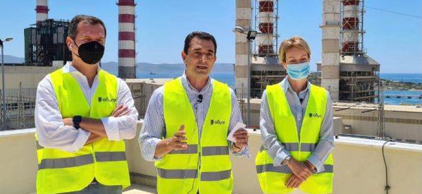 Στον Κ. Μητσοτάκη και τη Φον Ντερ Λάιεν παρουσίασε ο Σκρέκας την εθνική ενεργειακή στρατηγική