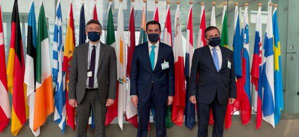 Στο Συμβούλιο Υπουργών Ενέργειας της Ευρωπαϊκής Ένωσης συμμετείχε ο Σκρέκας