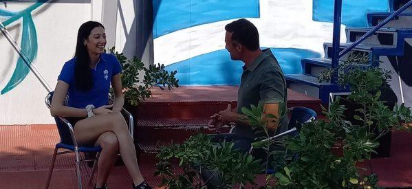 Στα Τρίκαλα ο Καπουτζίδης για γυρίσματα με την Φένια Τζέλη