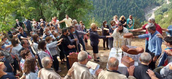 Εορτασμός της Αγίας Τριάδας στο ξακουστό Γαρδίκι