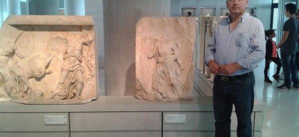 Άγαλμα του Ντίνου Κοτρώνη φτιάχνει η Κατερίνα Παπακώστα